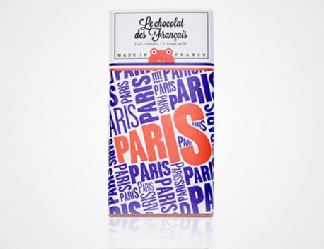 Le chocolat des Français lait crémeux