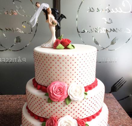 wedding cake avignon